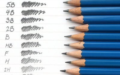 The mighty pencil, is it H or B or HB and what does it mean?