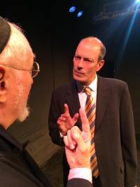 CHARLES E GERBER as Shylock and let's make a deal, ARTHUR AULISI as Antoni