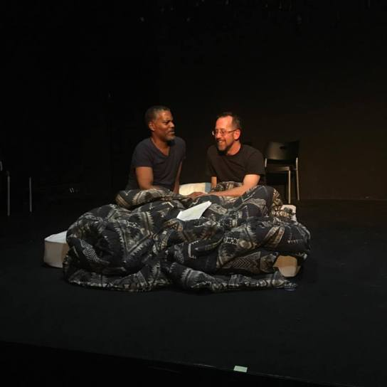 CK Allen with Robert Bruce McIntosh as lovers in COMPOSURE