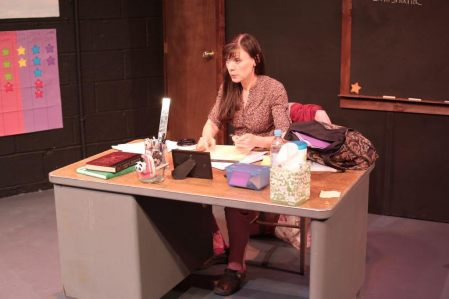 "As Heather in ""GIdion's Knot"" by Johnna Adams, The Seeing Place Theatre, photo credit to Natasha Straley"