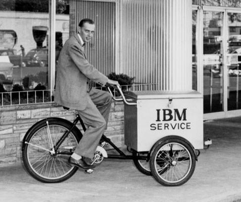 IBM service trike