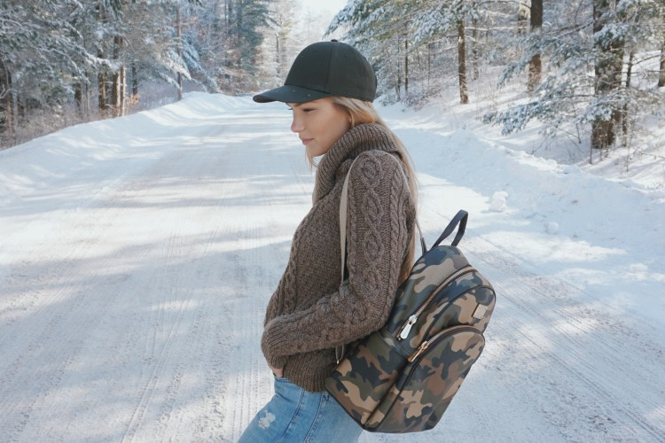 The Camouflage Backpack