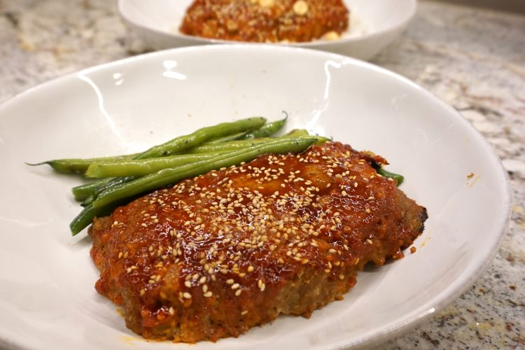 Asian Turkey Meat Loaf (healthy + Delicious)