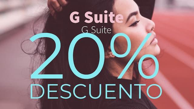 Código promocional descuento G Suite y GSuite GRATIS