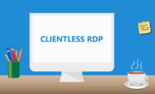 Clientless RDP Workspace 365
