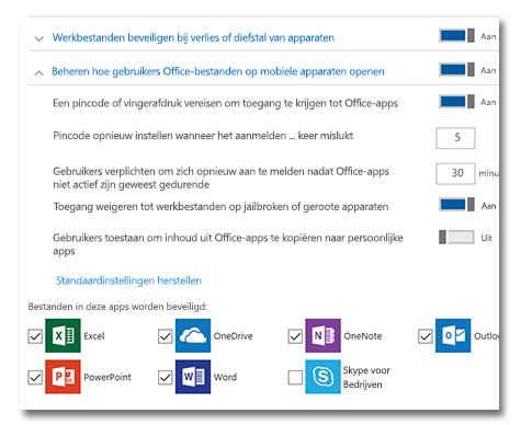 Microsoft 365 Digitale werkplek beveiliging