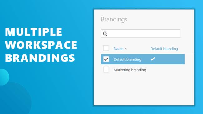 Multiple brandings workspace 365
