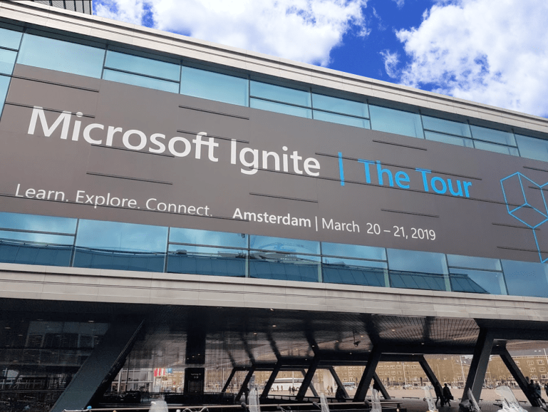 Microsoft Ignite The Tour Amsterdam
