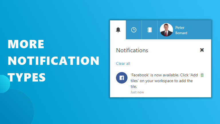 New notifications Workspace 365