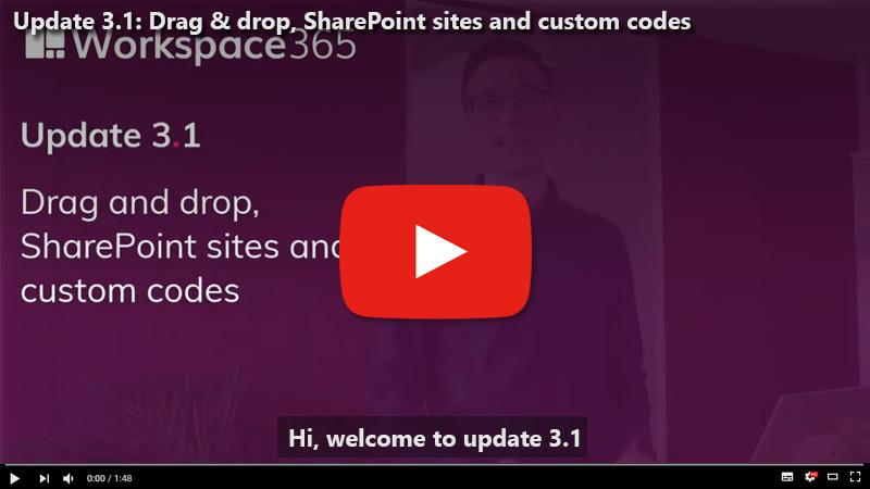 Update 3.1: Drag and drop emails, aangepaste HTML invoegen en automatisch SharePoint-sites ophalen