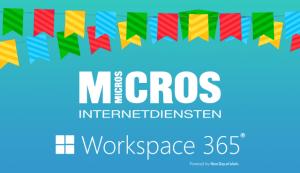 Micros Internetdiensten workspace 365 digitale werkplek