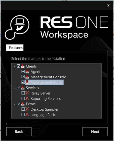 Step by Step Install RES ONE Enterprise Workspace