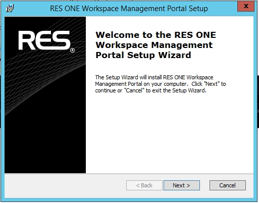 Step by Step installing RES One Enterprise Workspace Management