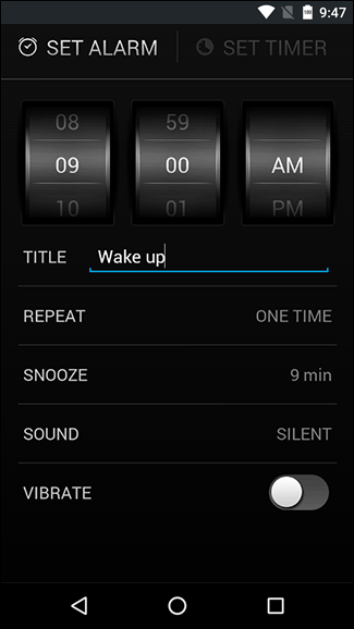 Android Alarm Clock Example | Unique Alarm Clock