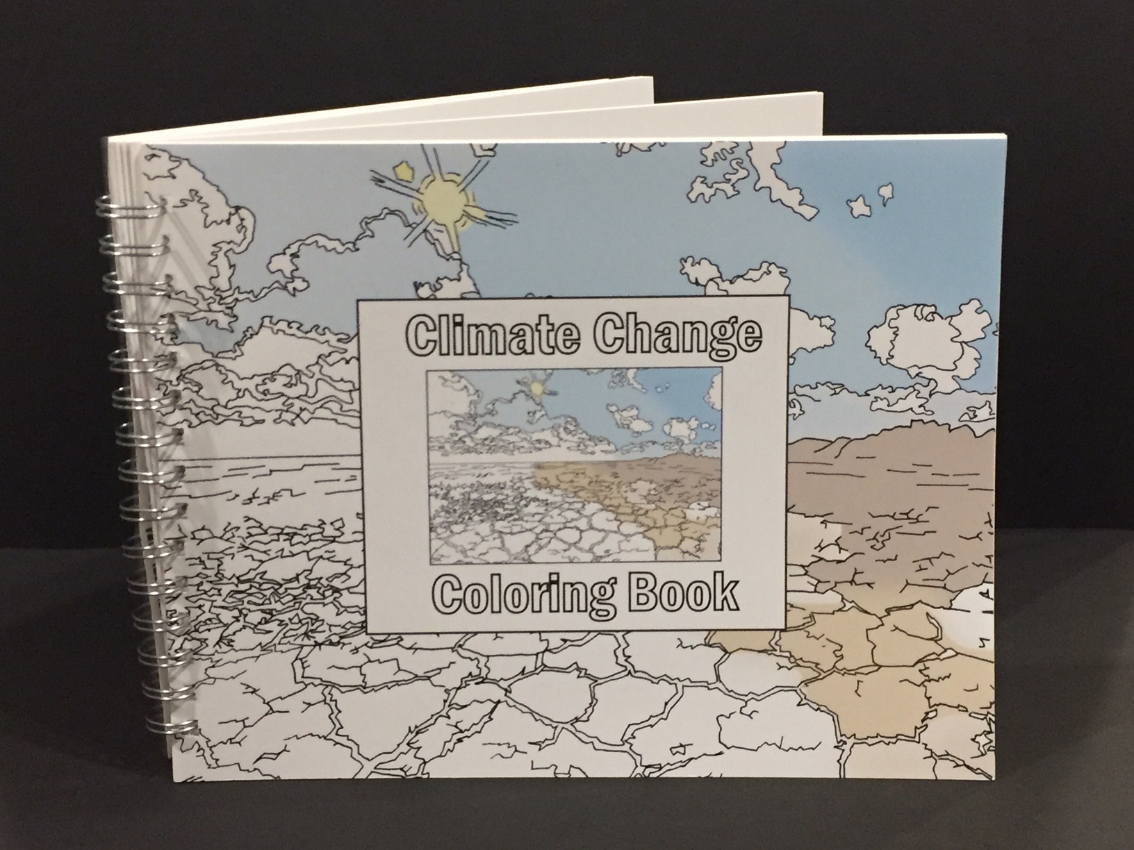 Ginger Burrell, Climate Change Coloring Book