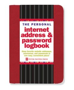 Internet adresse og kodeord