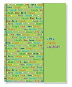 Live love laugh notesbog