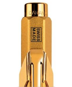 Caran d'Ache 849 Gold Bar kuglepen
