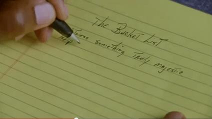 Fra filmen The Bucket List