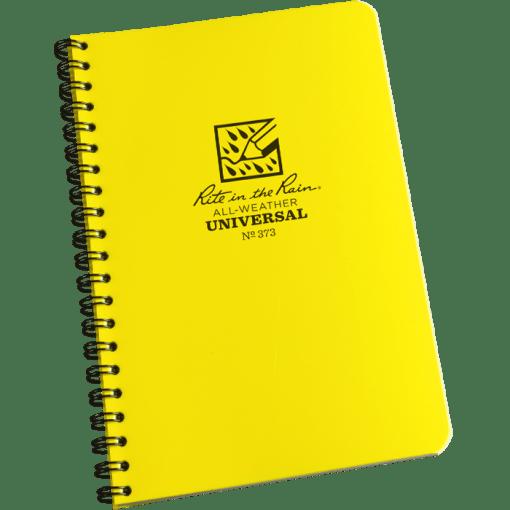 Universal Spiral notesbog med vandafvisende papir
