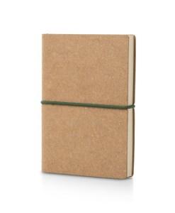 Notesbog i læder