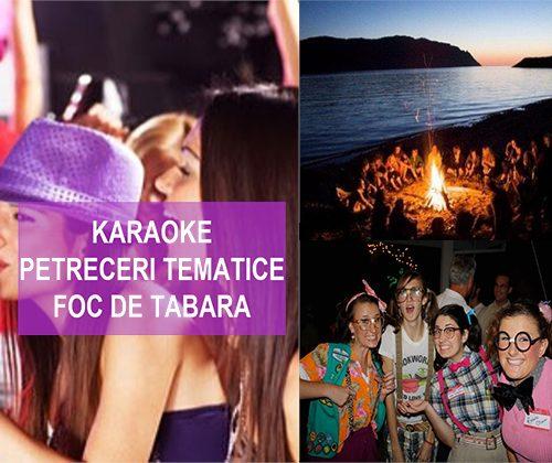 karaoke petreceri foc de tabara