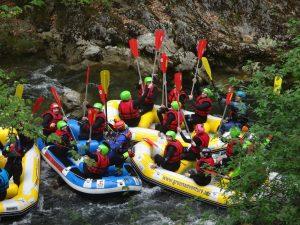 Rafting extrem