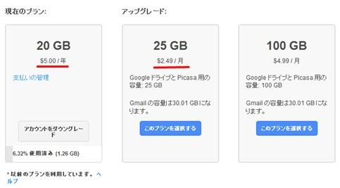 Google   ストレージの購入