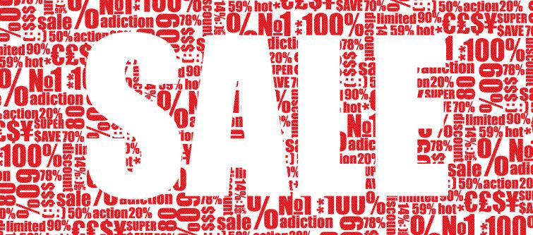 セール情報タイトルロゴ