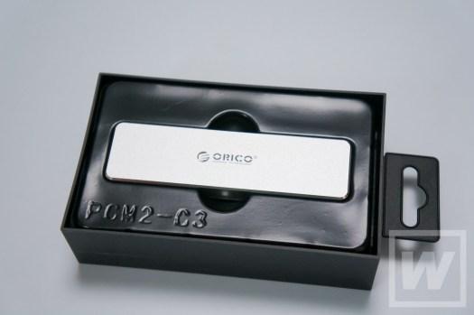Orico M.2 USBケース PCM2-GY 002 レビュー