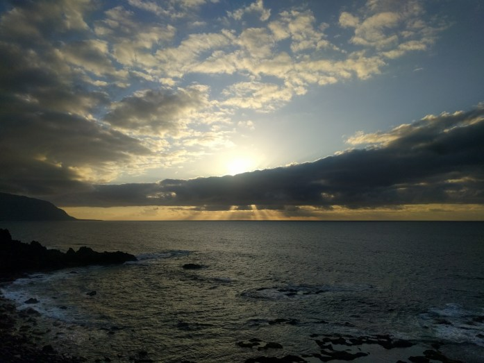 Sonnenuntergang bei La Maceta