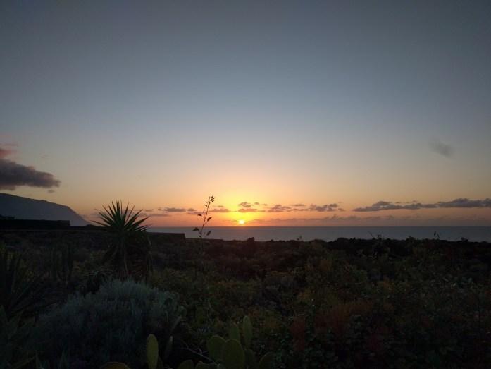 El Golfo Sonnenuntergang