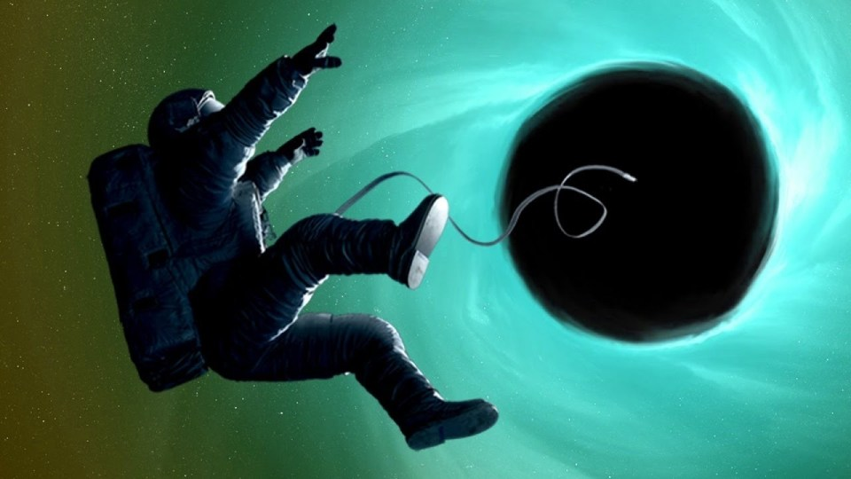 What happens when someone falls into black holes