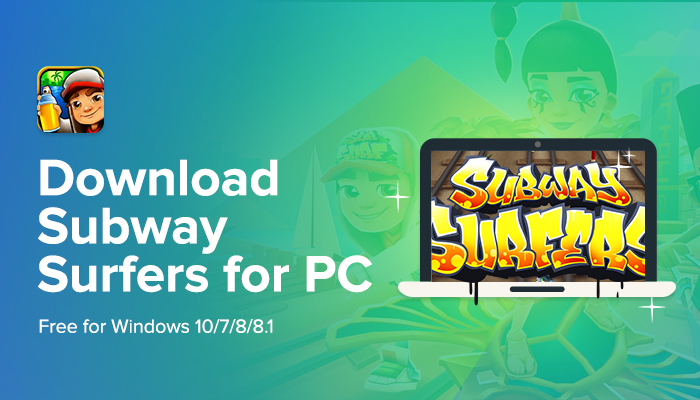 Subway Surfer PC Full Game Free Download for Windows 10