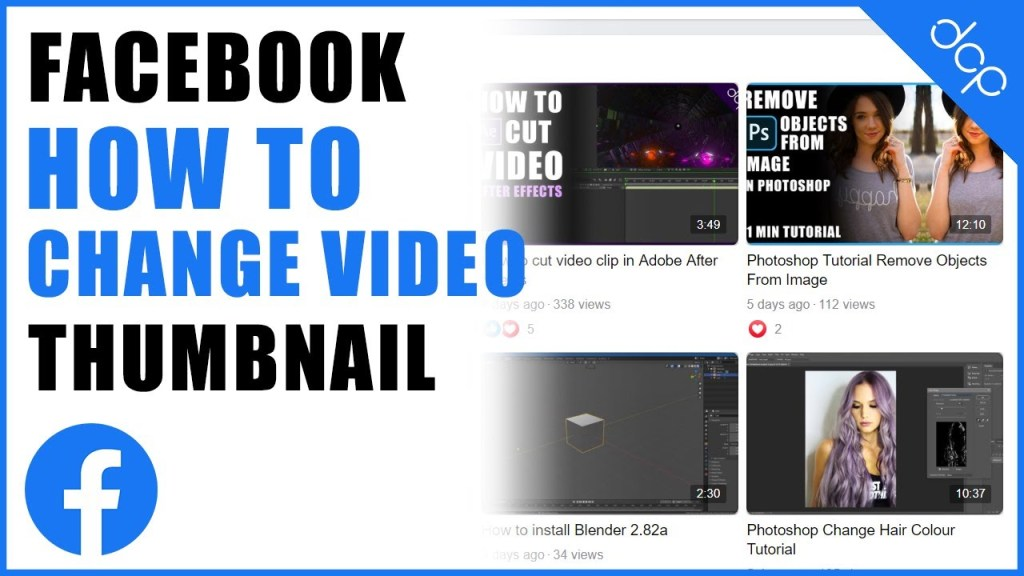 How to Change Video Thumbnail on Facebook | Custom Thumbnail 2021