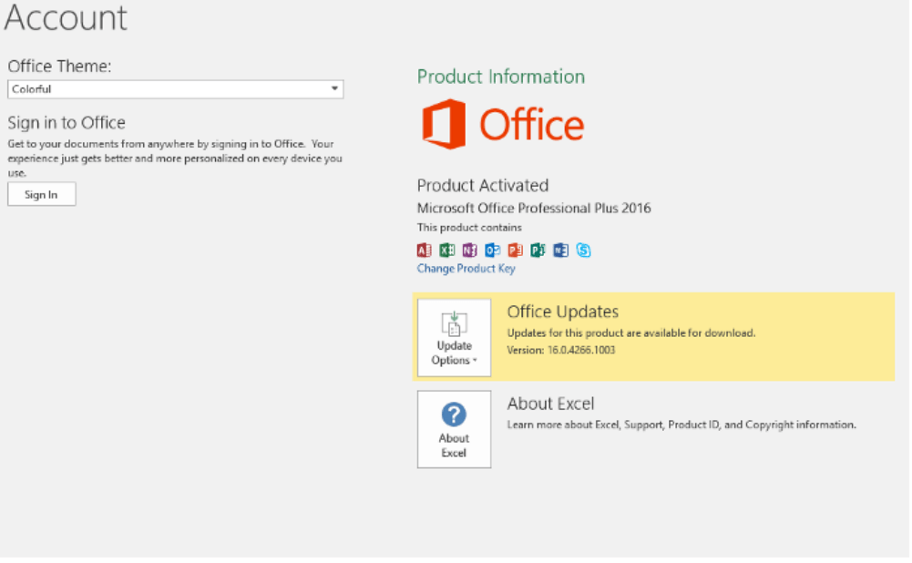 Activate Microsoft Office 2016 without Product Key