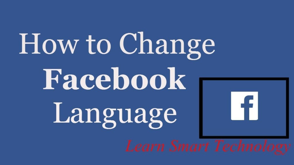 How to Change Your Language Settings on Facebook