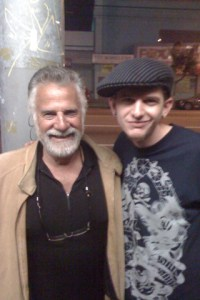 The Most Interesting Man In The World and DJ Quickie Mart