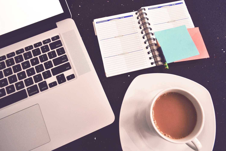 grab coffee. get writing