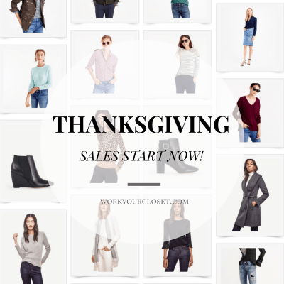 SHOP NOW: Pre-Thanksgiving Sales
