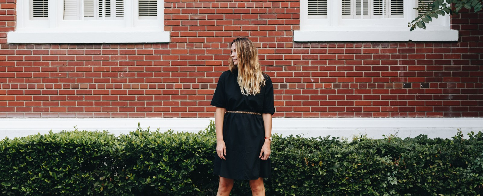 The Perfect Black Dress for Fall