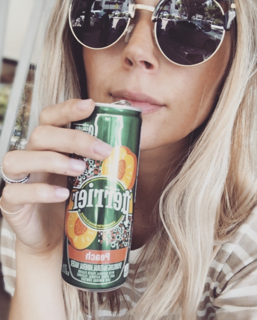 Perrier New Peach Flavor for Summer