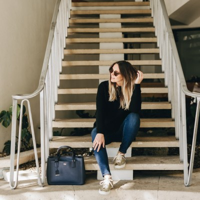 Embracing the Maternity Jean with Warp & Weft