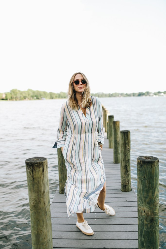 29b909e04 I love this maxi dress (with comes with a slip) is not just a beach  cover-up. I love how this can be dressed up or down but the colors and fit  makes ...