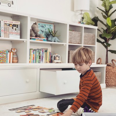 How To Turn a Shared Space into a Functional Playroom with Pottery Barn Kids