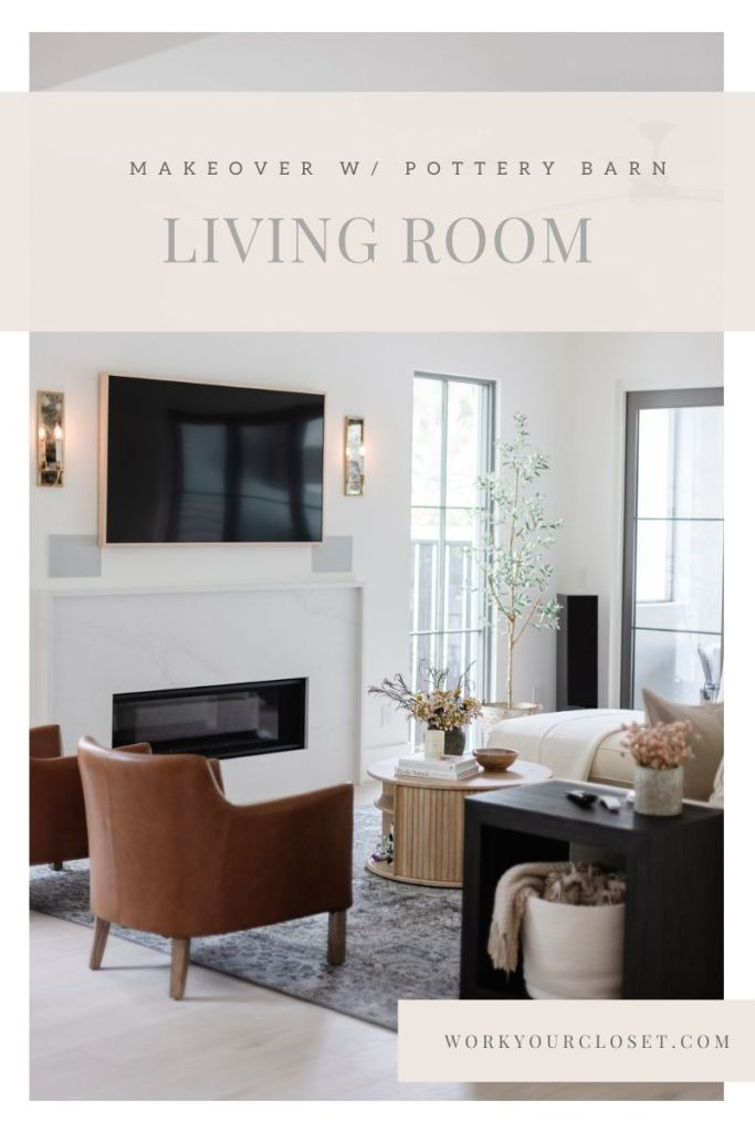 A Fresh Kid Friendly Living Room Makeover with Pottery Barn