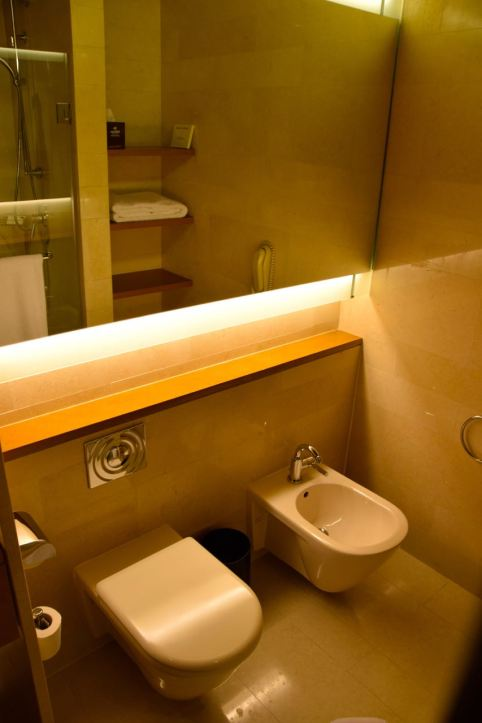 Hilton Kuwait Room Bathroom Toilet | World-Adventurer
