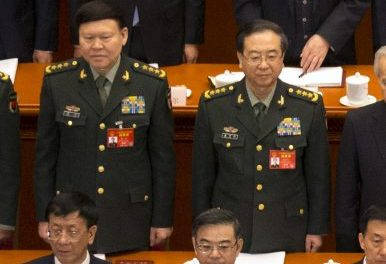 China: Former Generals prosecuted for graft