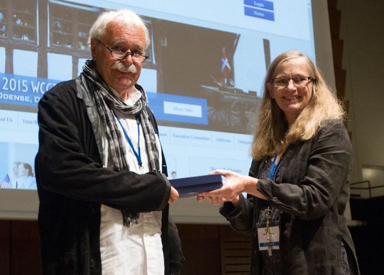 Klaus Urban Received the 2015 International Creativity Award