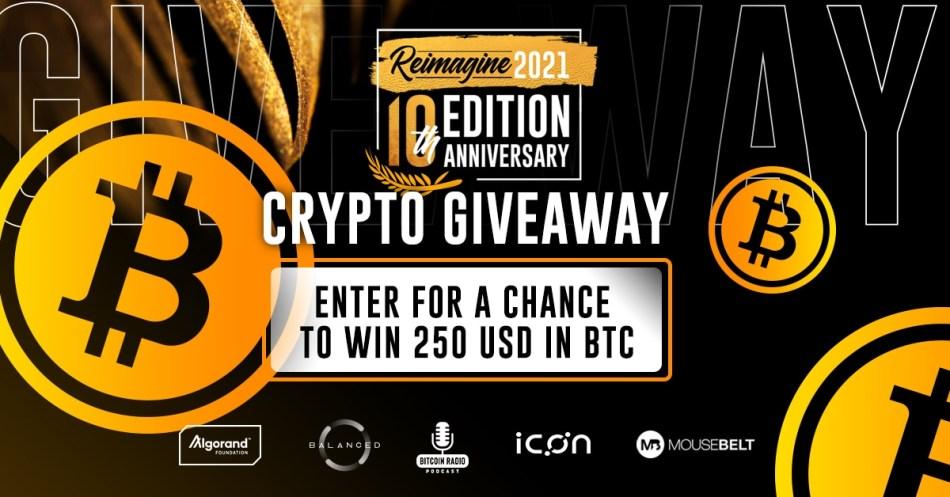 giveaway bitcoin 2021
